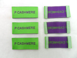 Hot Selling Customized Cloth Label Woven Label pictures & photos