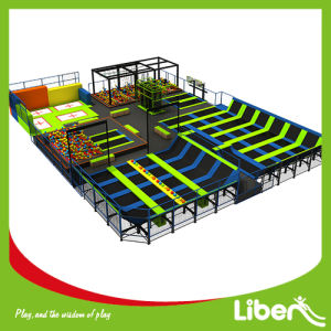 Producer Trampoline Place with Ninja Course and Dodgeball Area pictures & photos