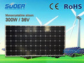 Mono Solar Panel 300W 36V pictures & photos