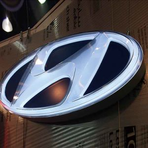 3D Molded Signs Outdoor Lighting Car Logo pictures & photos