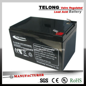 12V12ah Rechargeable Mf Lead Acid UPS Battery pictures & photos