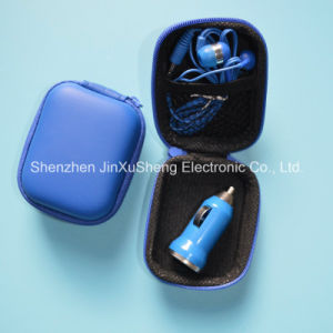 Portable USB Charger and Earphone Set