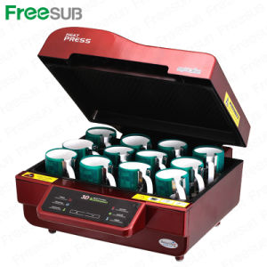 3D Sublimation Mug Heat Press Transfer Printing Machine for Sales (ST-3042) pictures & photos