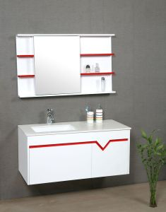 Bathroom Cabinet with LED Mirror (P37)
