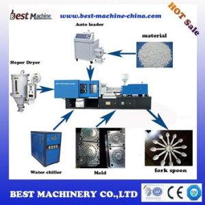 New Condition Household Disposable Spoon Fork Knife Injection Molding Machine pictures & photos