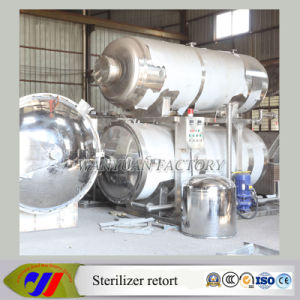 Sterilization Autoclave for Curry Chicken pictures & photos