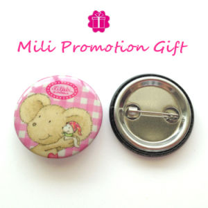 Cute Bear Cartoon Design Special Order Round Pin Bottom Badge pictures & photos