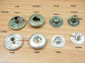 Brass Snap Button with Nickle for Garments (PSB-5604) pictures & photos