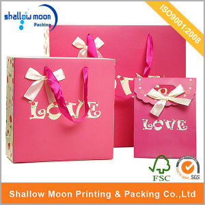 Love Design for Valentine′s Gift Paper Bags (QYZ245) pictures & photos