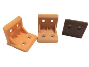 Plastic L Shape Angle Shelf Bracket Aj-006 pictures & photos