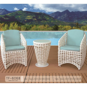 Aluminum Frame Garden Patio Furniture Leisure Coffee Table and Chair Set