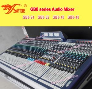 china soundcraft gb8 48 style professional audio 48 channel digital sound mixer china audio. Black Bedroom Furniture Sets. Home Design Ideas