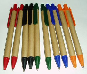 Hot Selling Eco Friendly Promotional Paper Ballpen pictures & photos