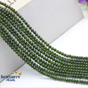 4 6 8 10 12mm DIY Gemstone Jewelry Loose Strands Wholesale Natural Green Chalcedony