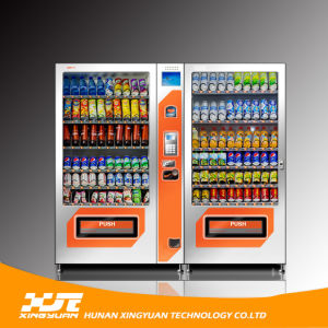 Xy-Dle-10g Snack and Drink Vending Machine with Two Cabinets pictures & photos
