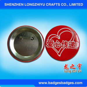 Custom Logo Price Printed Tinplate Badge Button Pin pictures & photos