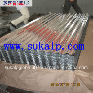 4X8 Galvanized Corrugated Steel Sheet pictures & photos