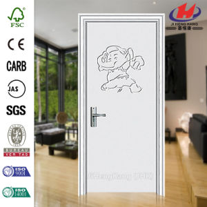 Bargain Price Hollow Core Decorative PVC Door pictures & photos