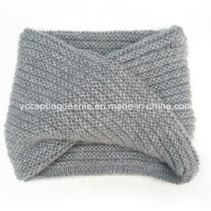 Acrylic Knitted Infinity Fashion Scarf pictures & photos