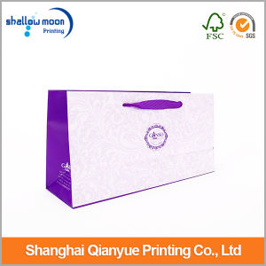 Handle and Recyclable Feature Paper Bag with Logo Print pictures & photos