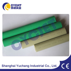Green Color PPR Pipe Fly Laser Marking Machine of Cyc Laser pictures & photos