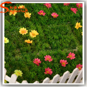 Wholesale Home Decoration Plastic Synthetic Green Grass pictures & photos