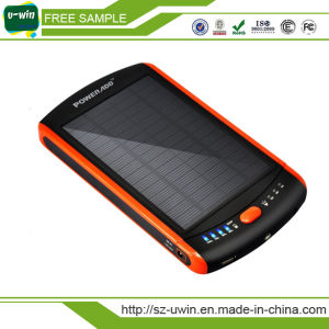 5000mAh Portable Waterproof Solar Power Bank Charger pictures & photos