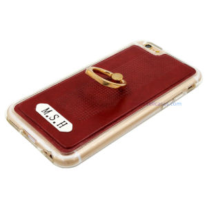 Good-Texture Leather Mobile Cover/Case with Ring Holder for Smart Phone pictures & photos