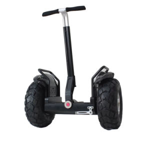 Two Wheels Self Balancing Electric Handle Scooter with LED Light pictures & photos
