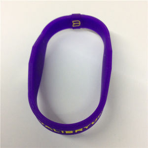 2016 Customize Silicone Rubber Wristbands with a Message pictures & photos