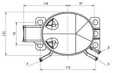 Qd52yg R600A Piston Compressor pictures & photos