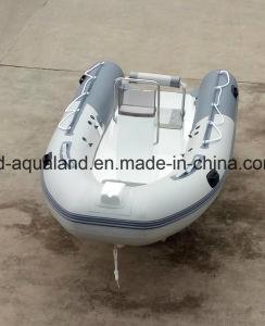 Aqualand 14feet 4.2m Rigid Inflatable Fishing Boat/Rib Rescue Boat (RIB420A) pictures & photos