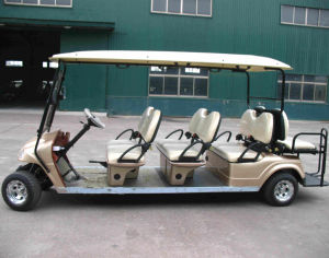 8 Seat Electric Golf Cart with Back Forward Seats pictures & photos