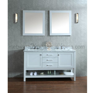 "60"" Double-Sink Bathroom Vanity Set / Wooden Bathroom Vanities pictures & photos"