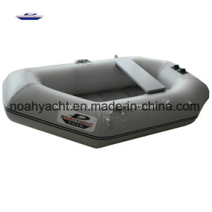 Cheap 1-2 Person 0.7mm- 0.9mm PVC Fishing Boat with Slat Floor pictures & photos