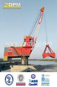 360° Rotation Single Jib Portal Fixed Crane in Port for Loading pictures & photos