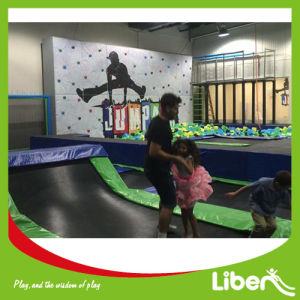 Open Indoor Trampoline Urban Trampoline Park with Foam Pit pictures & photos