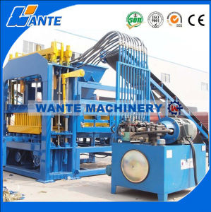 Wante Machinery Qt4-15c Automatic Hydraulic Concrete Block Machine Price pictures & photos