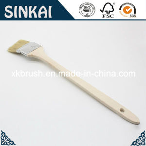 Bended Brush with Long Wood Handle and Tin Ferrule pictures & photos