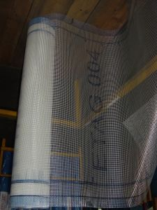 Alkaline Resistant Fiberglass Mesh with Printing Logo, Fiberglas Plaster Netting pictures & photos