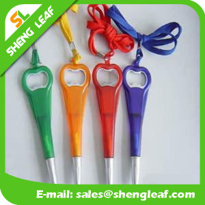 Lovely Custom Logo Ball Pen with Lanyard Paper (SLF-LP023) pictures & photos