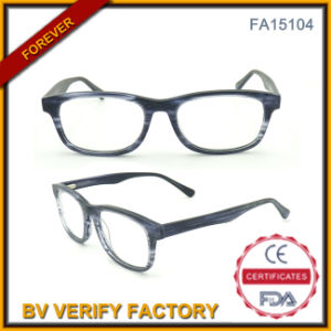 New Development Acetate Optical Glasses with Metal Spring (FA15104) pictures & photos