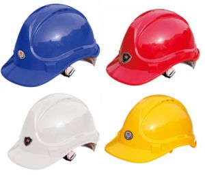 EUR-American Type Construction Safety Helmet Ce En397 Safety Helmet/ High Density Industrial Polypropylene Shell Safety