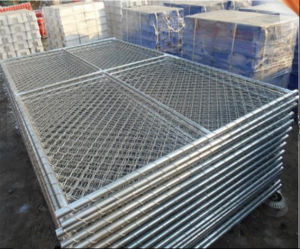 Wholesale 6ftx12FT Chain Link Temporary Security Fence Panel pictures & photos