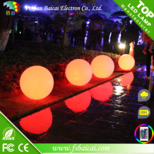 RGB Waterproof LED Plastic Ball pictures & photos