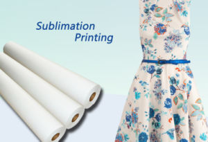 "105grs 44"" Fast Dry Anti-Curled High Quality Dye Sublimation Transfer Paper Chinese Manufacturer for Inkjet Printers pictures & photos"