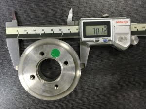 CNC Part of Stainless Steel Flange pictures & photos