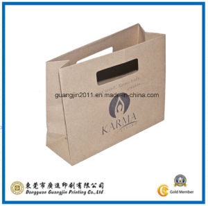 Kraft Paper Gift Carrier Bag (GJ-Bag407) pictures & photos