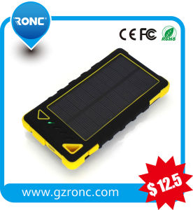 Electronic 5000mAh Solar Power Bank for Mobile Phone pictures & photos