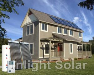 Water Heating and Room Heating Solar Heating System pictures & photos